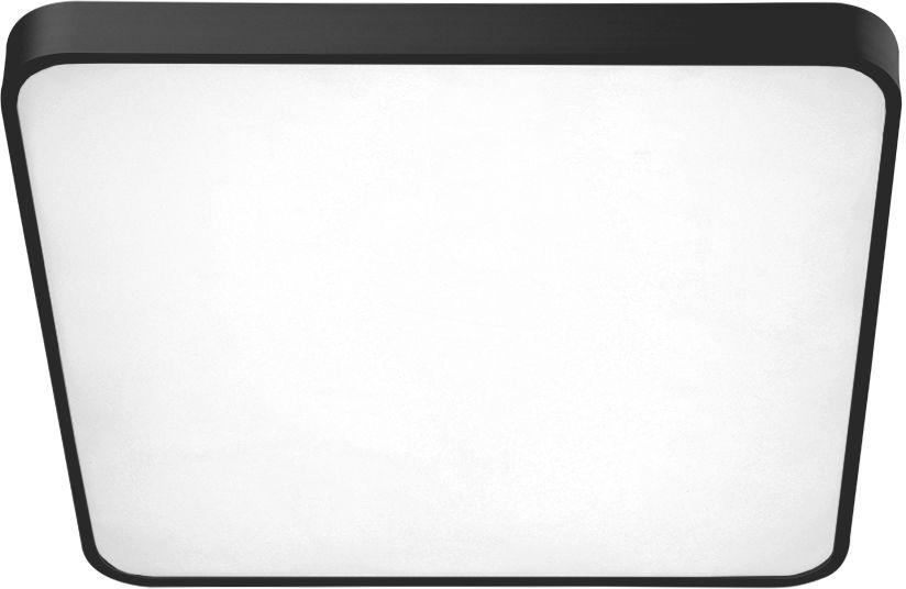 Plafon Quadro 50 CCT AZ2759 AZzardo kwadratowa oprawa w kolorze czarnym