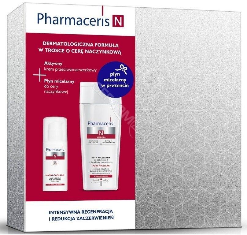 Pharmaceris N zestaw krem + płyn micelarny