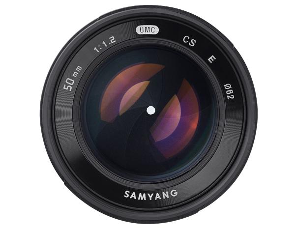 Samyang 50mm F1.2 AS UMC CS - obiektyw do Sony E Samyang 50mm F1.2 AS UMC CS