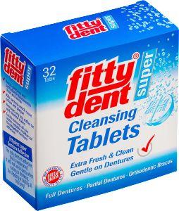 Fittydent Tabletki do czyszczenia protez zębowych - 32szt.