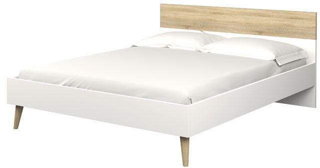 Łóżko oslo 180 x 200 w stylu retro