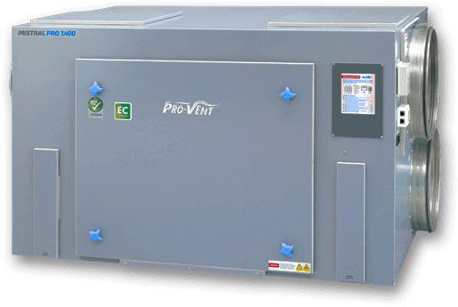Rekuperator PRO-VENT Mistral PRO 2000 EC