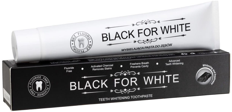Pasta do zębów wybielająca z węglem aktywnym 75 ml - biomika