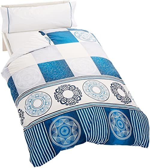 Artemur Wosk  podwójna kołdra na łóżko 105 cm niebieska