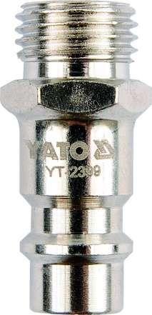 Złącze, gwint zewnętrzny 1/4'' Yato YT-2399 - ZYSKAJ RABAT 30 ZŁ