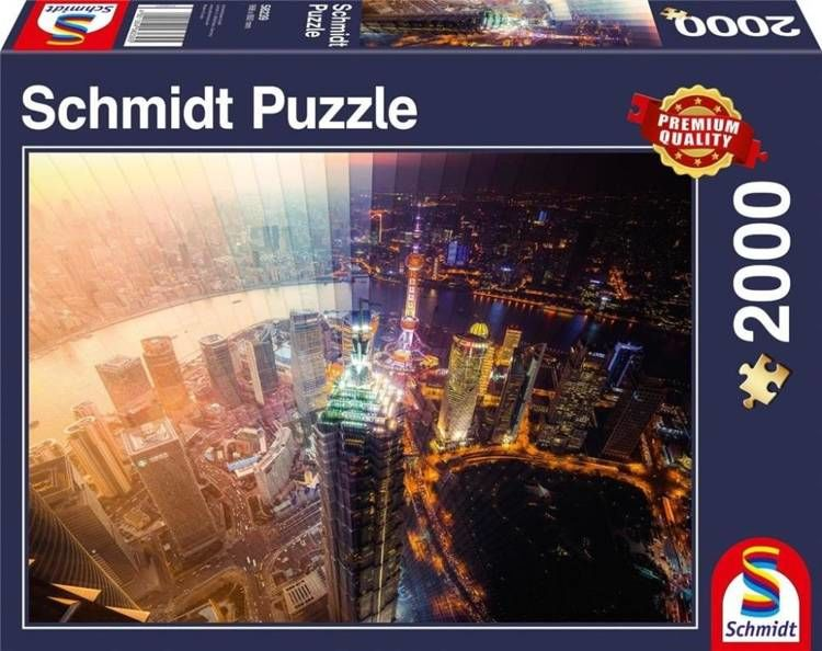 Puzzle PQ 2000 Dzień i noc G3