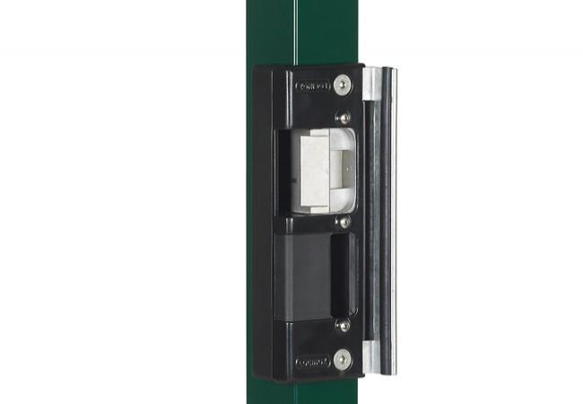 Elektrozaczep rewersyjny Locinox SEH-R Ruptura pod zamek wpuszczany Hybrid, 12V AC/DC