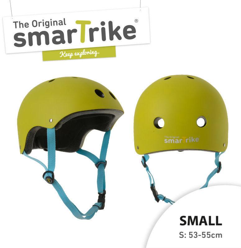 Kask Rowerowy Smart Trike S - Zielony