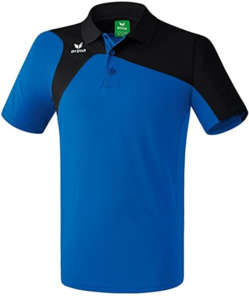 Erima Unisex Club 1900 2.0 Polo dla dzieci niebieski New Royal/Schwa 152