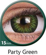 Big Eyes - Party Green, 2 szt.