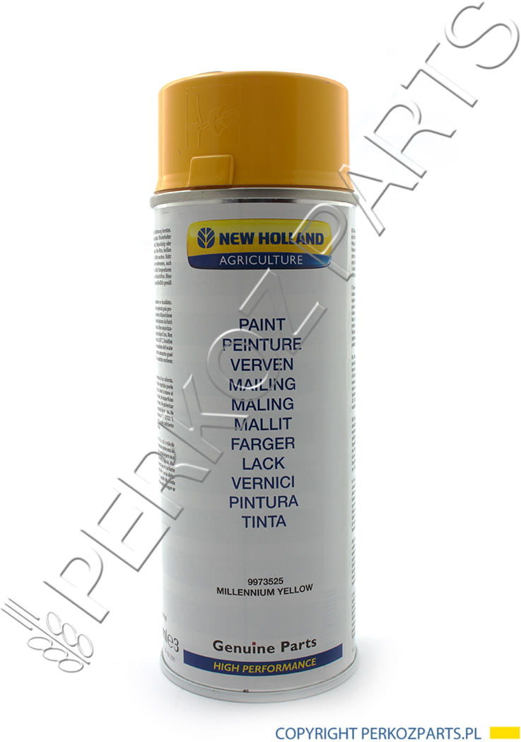 FARBA ŻÓŁTA SPRAY 400ML NEW HOLLAND 9973525