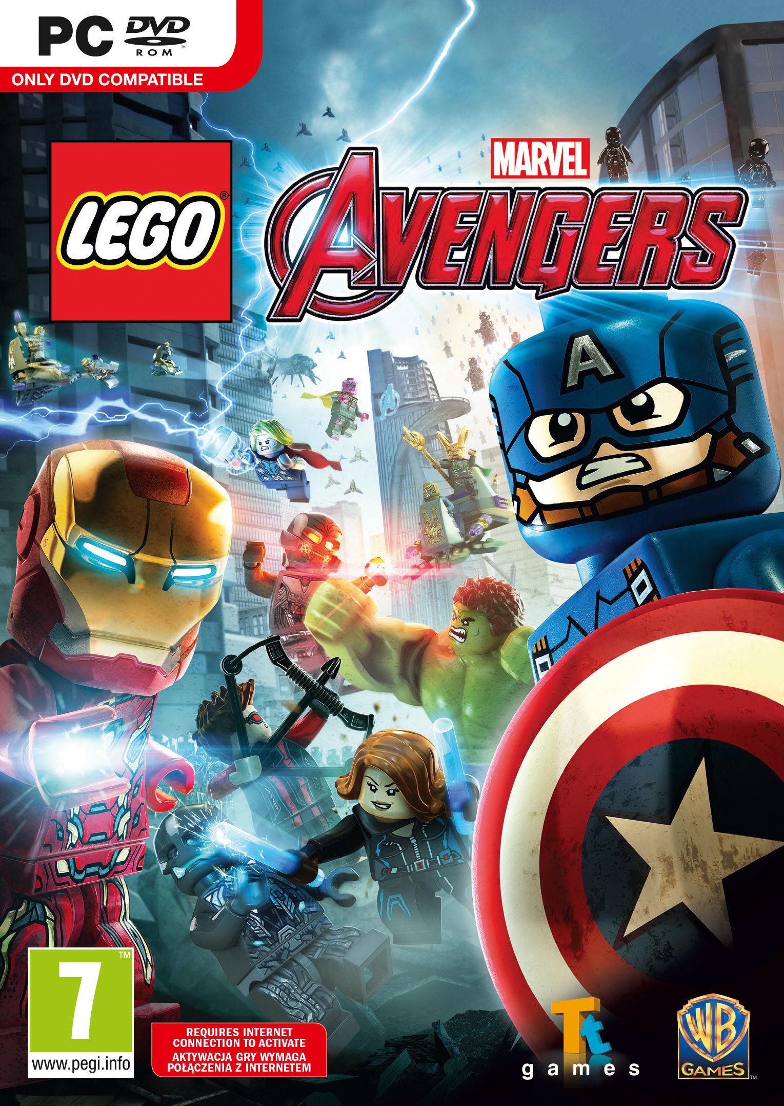 LEGO Marvel Avengers (PC) klucz Steam