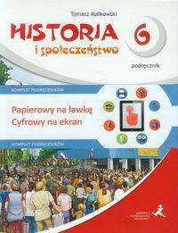 Wehikuł czasu Historia i społeczeństwo klasa 6 Podręcznik + Multipodręcznik