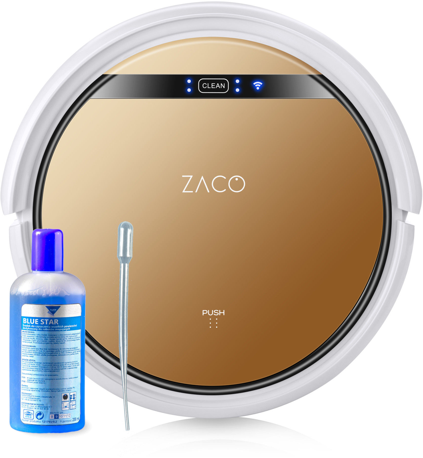 ZACO V5x robot sprzątający z mopem i aplikacją + GRATIS