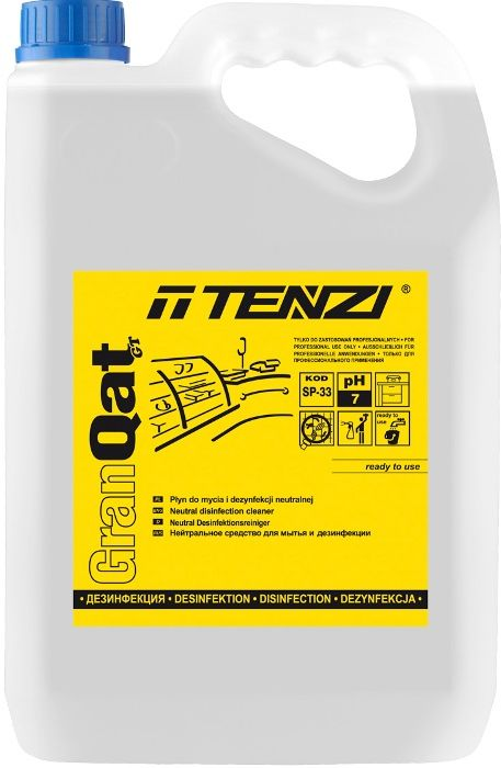 Środek do mycia i dezynfekcji powierzchni Gran Qat GT poj. 5 l