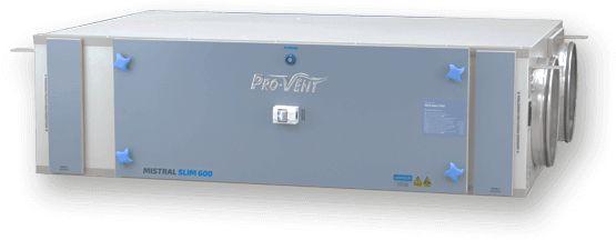 Rekuperator PRO-VENT Mistral Slim 1500 EC