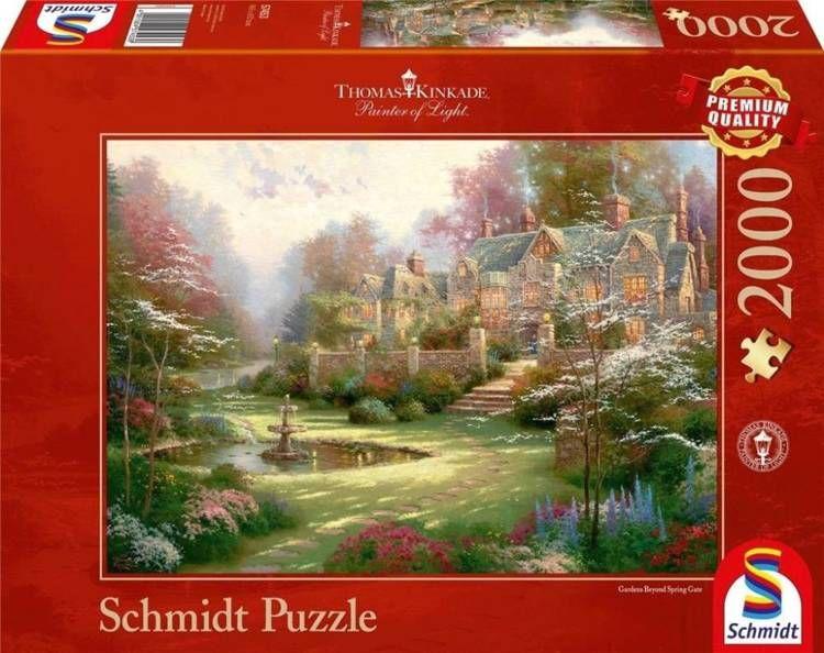 Puzzle PQ 2000 Wiosenny ogród G3