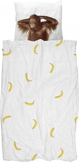 Pościel banana monkey pojedyncza 135 x 200 cm