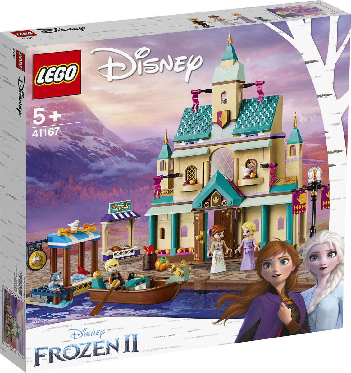 LEGO Disney Princess Zamkowa wioska w Arendelle 41167