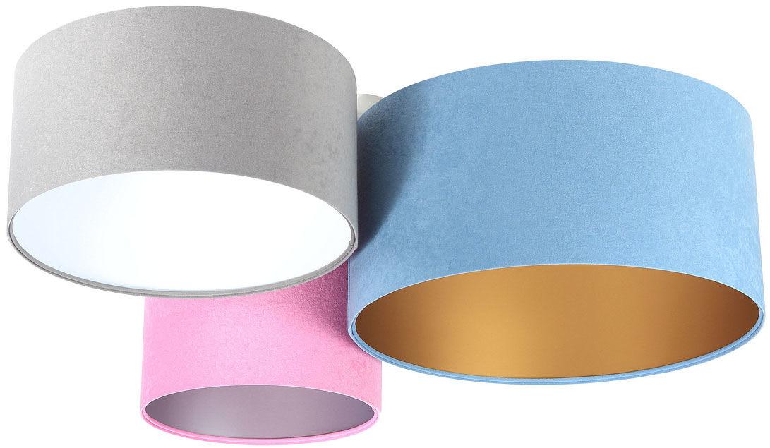 Kolorowy nowoczesny plafon z abażurami - EXX60-Hores