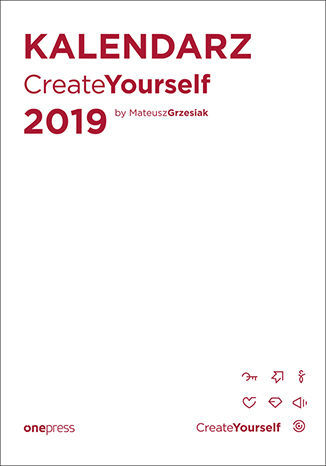 Kalendarz Create Yourself 2019 - dostawa GRATIS!.