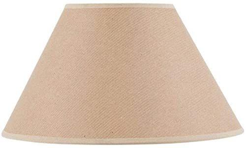 Klosz lampy w kształcie wiktoriańskim, Ø 35 x 15 x 21 cm, papier typu kraft