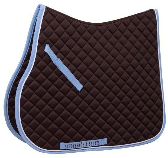 Potnik Trainer Pad dark brown/light blue - Schockemohle