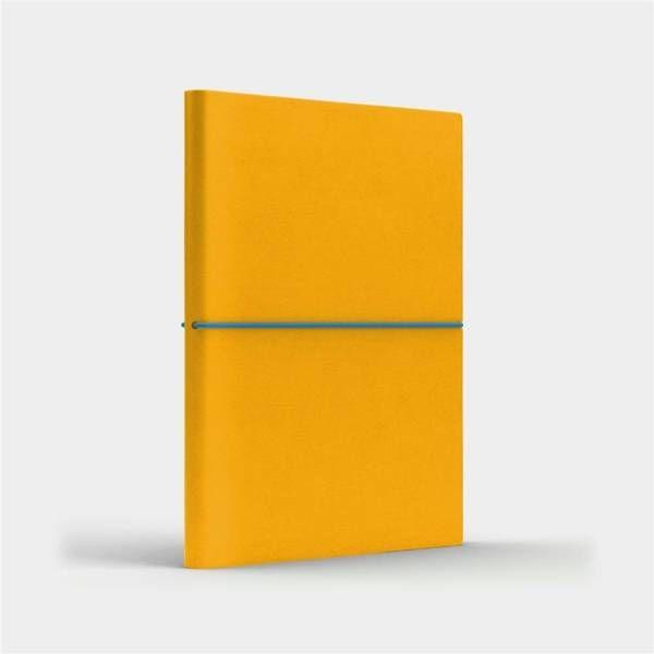 Notatnik B6 Fun S kratka żółty/niebieski - Like U