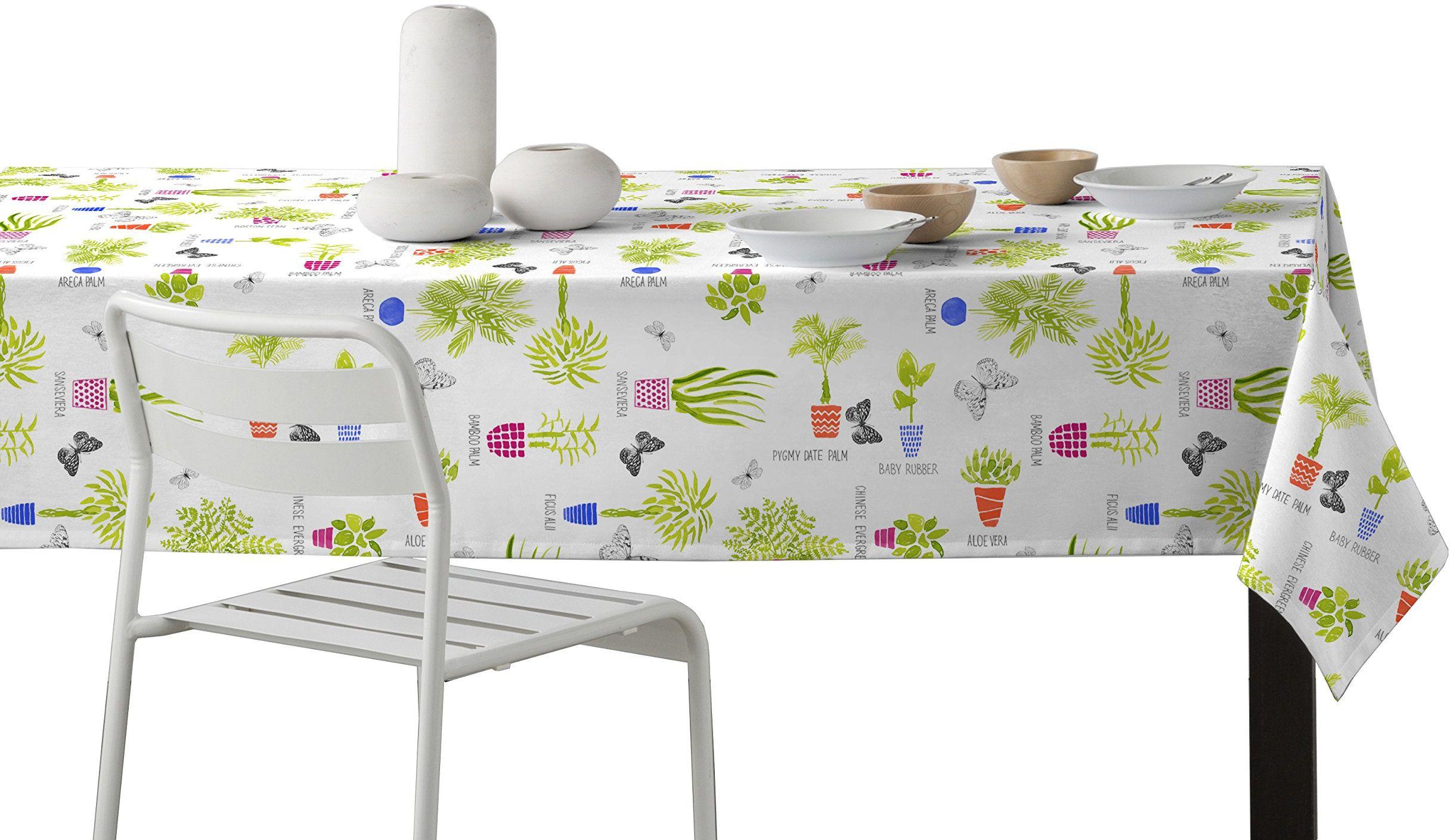 Martina Home doniczka na kwiaty, obrus Resinado, tkanina, wielokolorowa, 29 x 2 x 40 cm