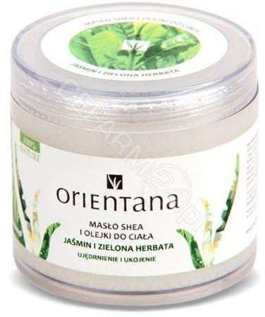 Orientana Naturalne masło shea z olejkiem jaśminowym i olejkiem z zielonej herbaty 100 g