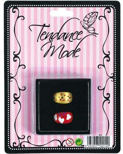 WDK Partner  A0904788  biżuteria i kosmetyki  2 pierścienie wypieki w szkatułce