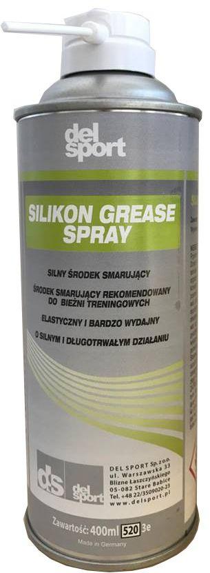 Smar Do Bieżni Silikon Grease Pro 400ml DelSport