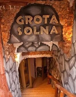 Seans w grocie solnej dla dwojga  Poznań