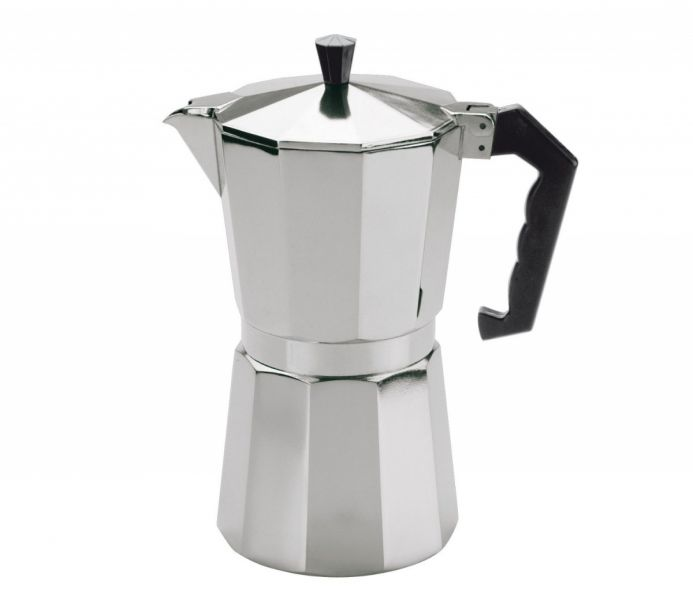 Cilio Kawiarka Aluminiowa - Kafeteria do Espresso 450 ml Srebrna