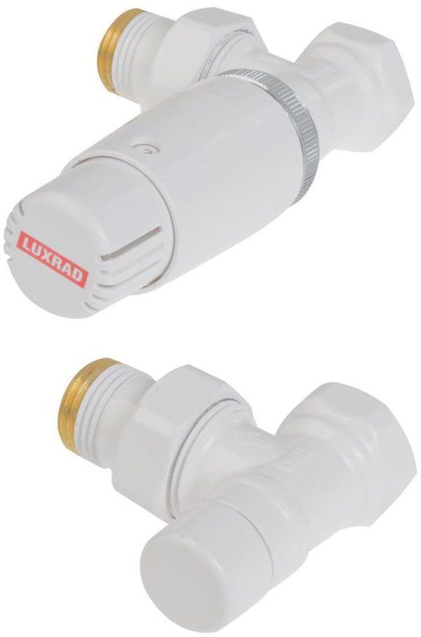 """Zestaw termostatyczny KĄTOWY 1/2"""" LUXRAD"""