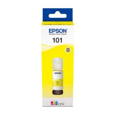 Tusz Oryginalny Epson 101 (C13T03V44A) (Żółty) - DARMOWA DOSTAWA w 24h
