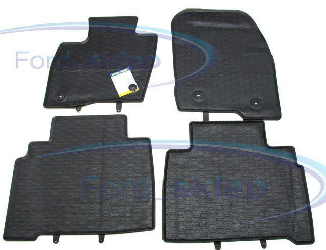 dywaniki gumowe S-Max / Galaxy przód + tył - zamiennik