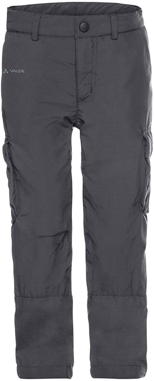 Vaude Detective Cargo Pants spodnie dziecięce, uniseks szary żelazo 158-164