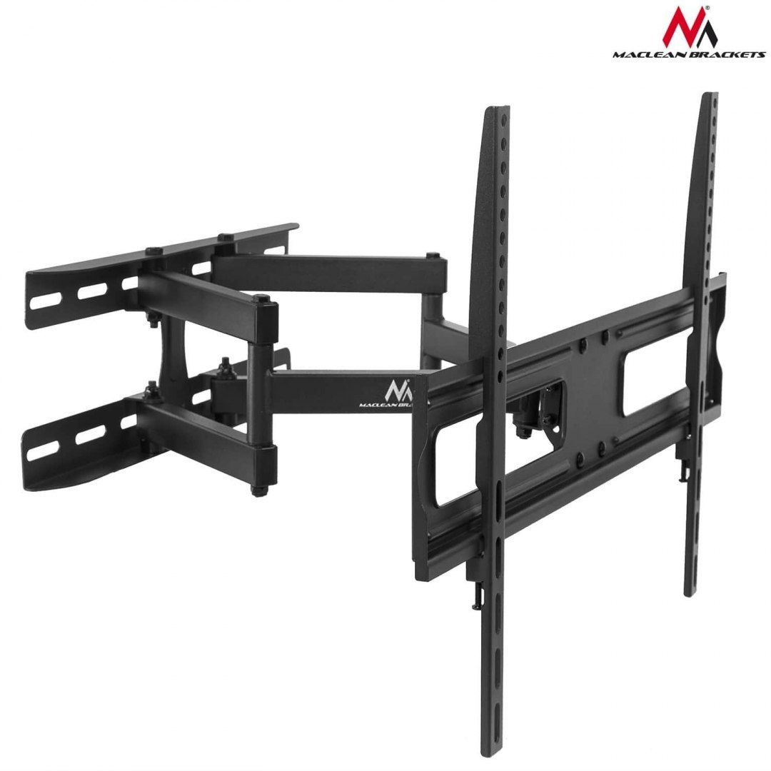 "Uchwyt do telewizora Maclean MC-762 37-70"" 30kg czarny max VESA 600x400"