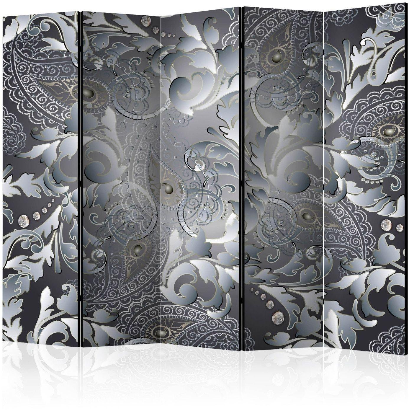 Parawan 5-częściowy - orientalny deseń ii [room dividers]