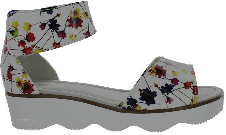 Sandały damskie Gabor kolorowe21.610.90