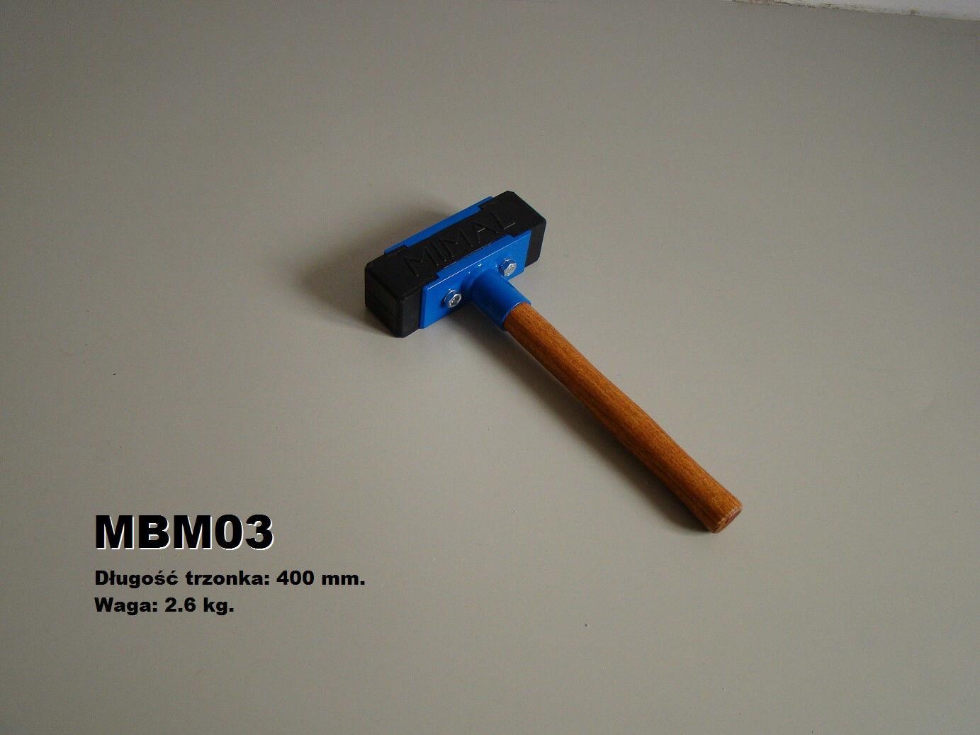 Młotek brukarski 2,6 kg MIMAL -MBM03