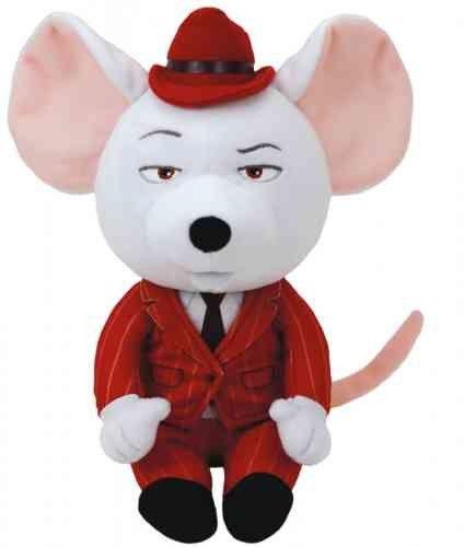 TY Pupilki Beanie Babies Sing! Mysz Mike 15cm