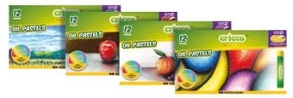 Cricco Kredki / pastele Cricco OIL PASTELS (12 szt. / 12 kolorów / narzędzie do drapania GRATIS)