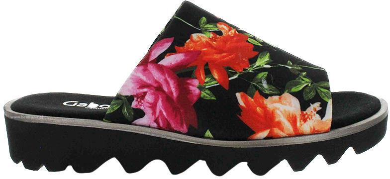 Klapki damskie Gabor kwiatowe22.700.27