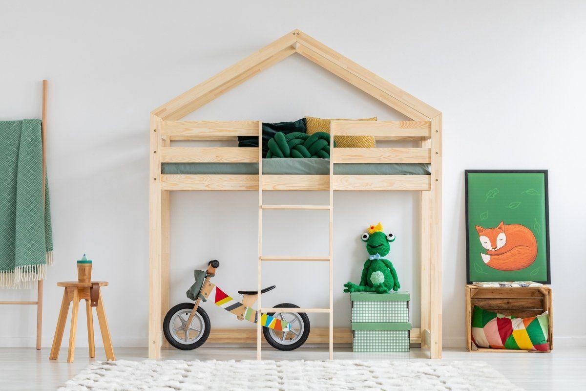 Łóżko dziecięce MILA DMPA 80x140 sosna  Kupuj w Sprawdzonych sklepach