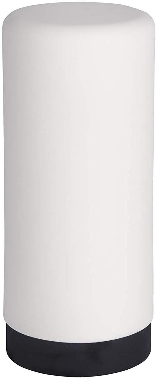 WENKO Dozownik płynu do mycia naczyń Easy Squeez-e biały  dozownik mydła, pojemność: 0,25 l, silikon, 6 x 14 x 6 cm, biały