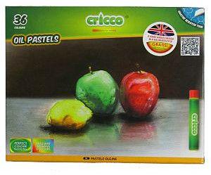 Cricco Kredki / pastele Cricco OIL PASTELS (36 szt. / 36 kolorów / narzędzie do drapania GRATIS)