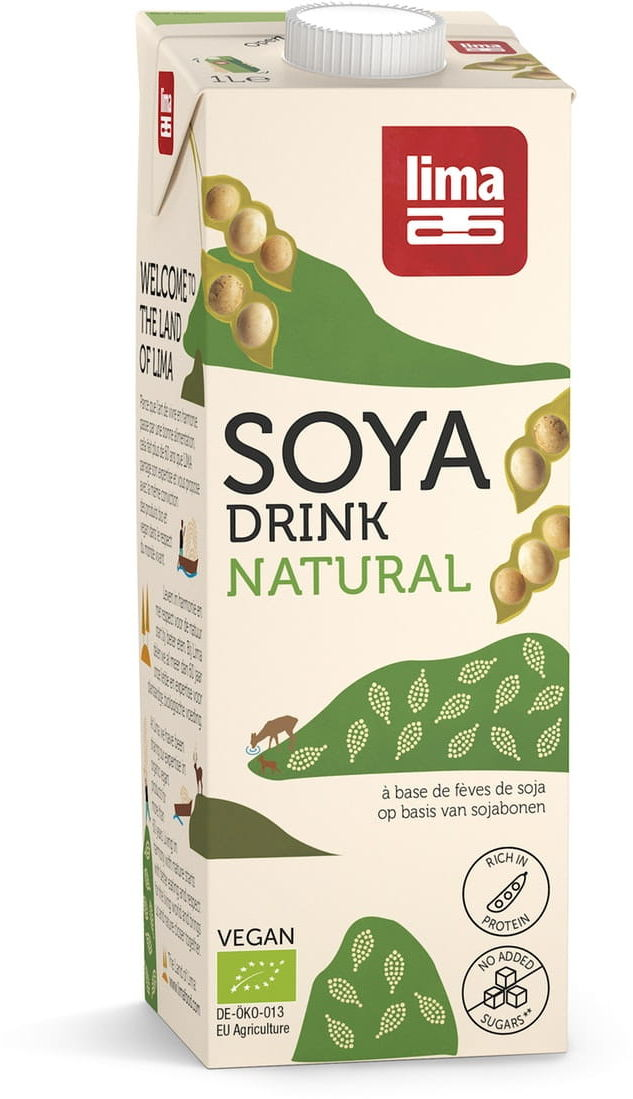 Napój sojowy bezglutenowy bio 1 l - lima