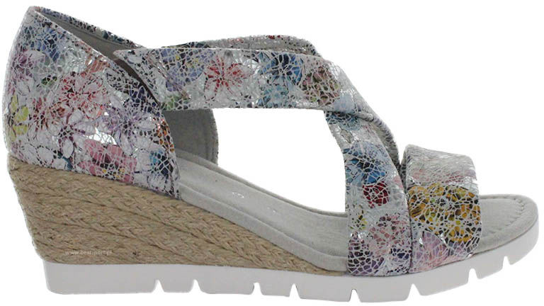 Sandały damskie Gabor kolorowe22.853.11
